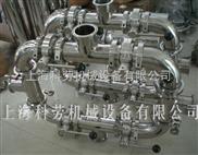 管道式雙聯過濾器、管道式雙筒過濾設備