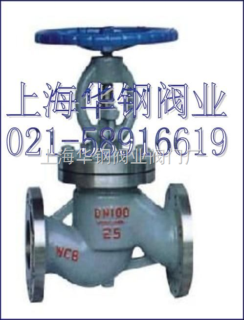 j41h法兰连接钢制直通式截止阀产品结构特点