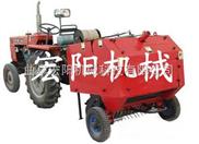 2、低价直销河南麦秸打捆机 麦草打捆机价格 自动捡拾式打捆机