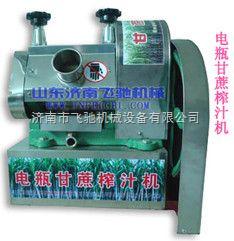 厂家直供电瓶式甘蔗榨汁机