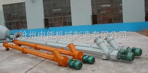 搅拌站专用螺旋输送机-水泥专业螺旋输送机首选滄州重諾公司專業生產的螺旋輸送機系列產品,螺旋輸送機種類齊全,可根據用戶需要設計製作。 如果選用螺旋輸送機,直接與我公司聯繫,如需要特色的型號製作,我們技術部門進行單獨設計。 攪拌站大傾角螺旋輸送機是由螺旋機本身,進出料口及驅動裝置三大部分組成,該機器為了避免螺旋軸過分彎曲導致與外管摩擦,螺旋軸中部要加支承,還應進行鬧度校核,中間支承是為減小螺旋輸送軸的徑向撓度而設置,這個部位工作條件惡劣。由於螺旋葉片在中間支承處間斷,所以支承沿軸線方向的長度及橫向尺寸應儘量減