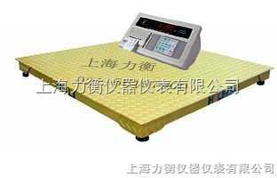 SCS带打印电子地磅,单层电子地磅