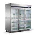 星星商用冷柜 六门厨房保鲜柜 玻璃门冰箱冷藏柜SG1.6L6
