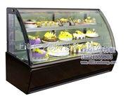 黑大理石圆弧蛋糕柜