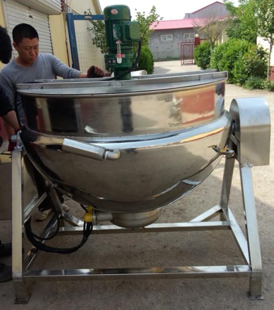 华邦可倾式夹层锅(带搅拌) 蒸煮锅