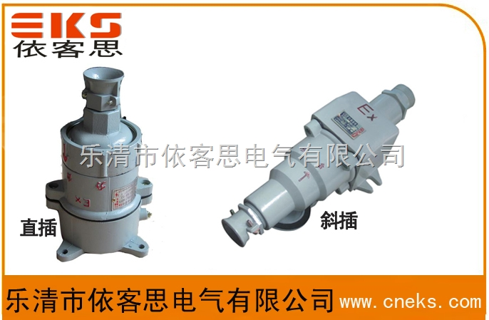 BCX53-32Z直插防爆插销,BCX53-32X斜插防爆插销价格
