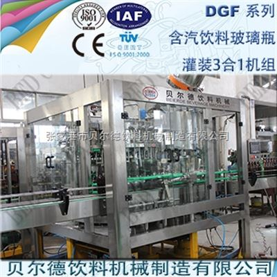 DGF 14-12-53000瓶每小时玻璃瓶碳酸饮料灌装生产线