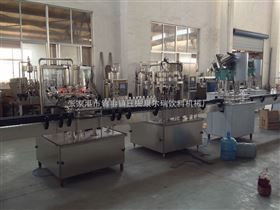 QS-12.CYG-12.FXZ-1直线式饮料灌装机生产线