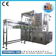 上海众冠全自动灌装旋盖机/自立袋灌装旋盖机