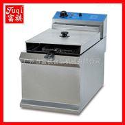 【广州富祺】DF-903台式单缸单筛电炸炉  台式电炸炉 油炸炉厂家 质优价实