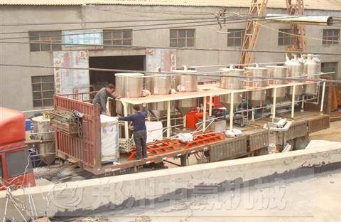 毛油精煉設備行情價格_中贏機械毛油精煉設備廠家