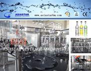 BBR-719-碳酸饮料生产线 玻璃瓶灌装机 鸡尾酒灌装机18头  三合一饮料灌装机BBR-719