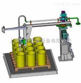 供应摇臂式防爆灌装机 液体灌装机 涂料油漆灌装机 定量灌装机