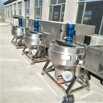 50型不锈钢可倾蒸汽式夹层锅