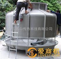 甘肃低噪音圆形冷却塔DLT60 锦山圆形冷却塔污水塔
