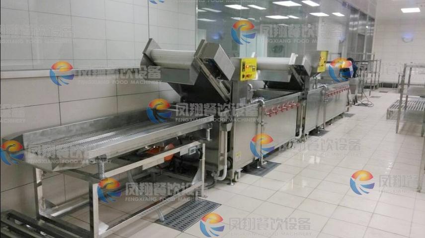 2014zui新 凤翔设备 净菜加工生产线 现场实拍图片图片