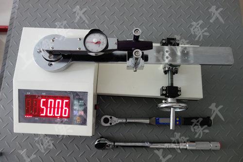 表盘式扭力矩扳手校准器图片
