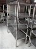 供应不锈钢厨具四层平板货架