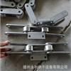 定制异型不锈钢链条 节距101.6链条 双节距大滚子弯板链