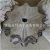 厂家直销节距50.8-10齿传动链轮 传送链轮 各种尺寸型号定制加工
